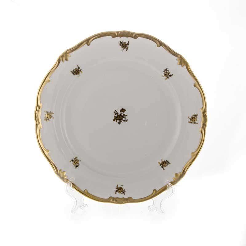 Роза Золотая Набор тарелок Weimar 26 см. 6 шт.