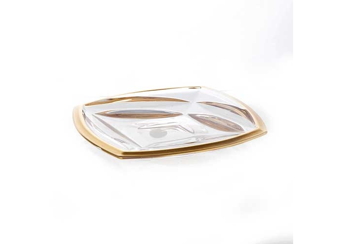 Факет Матовая 1 Блюдо Union Glass 18 см.