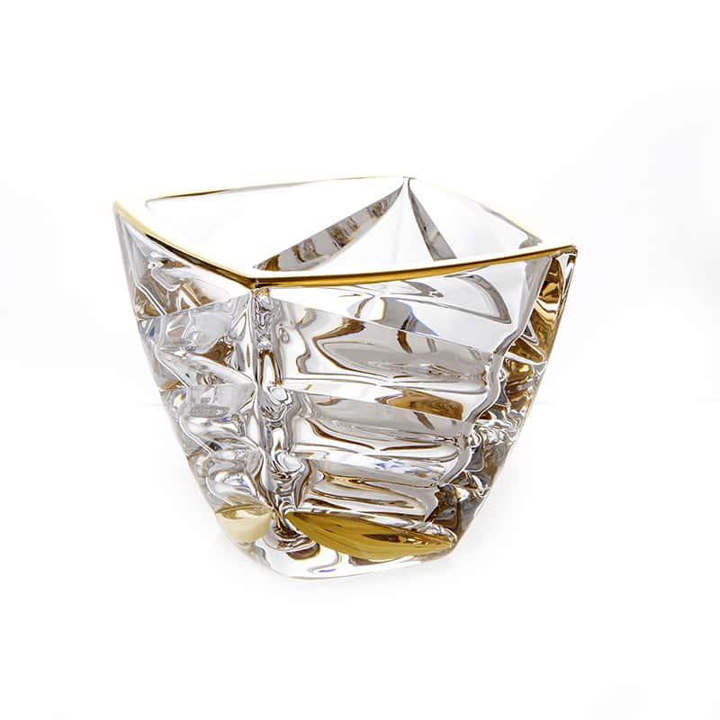 Факет Блестящая 1 Ваза для конфет Union Glass 14 см.