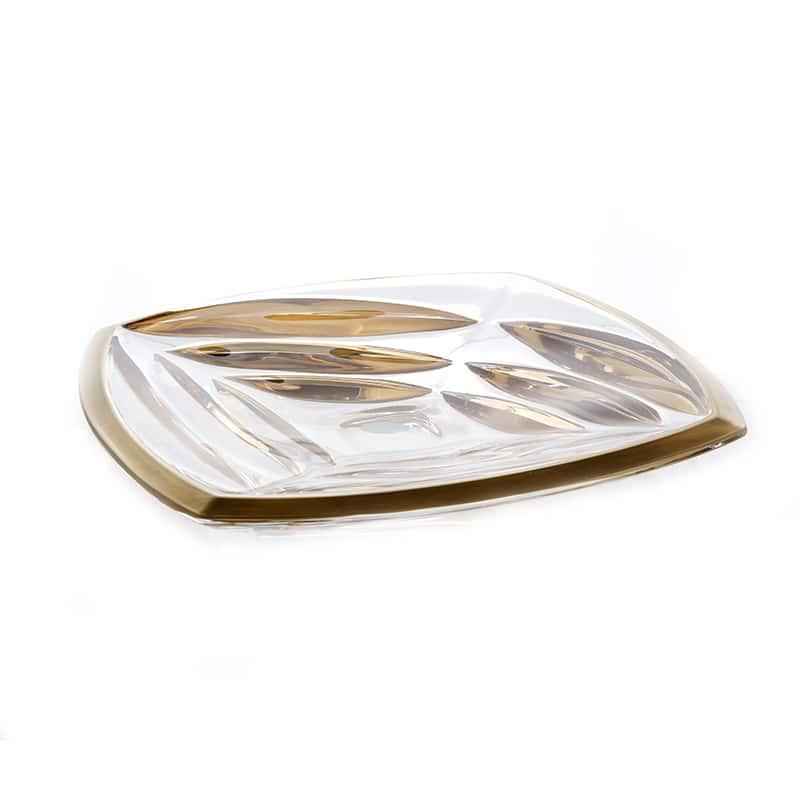 Факет Матовая 2 Блюдо Union Glass 32 см.