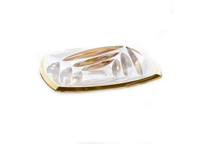 Факет Блестящая 2 Блюдо Union Glass 32 см.