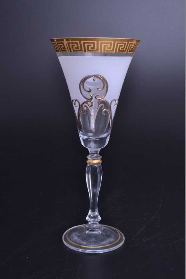 Виктория Костка R-G фон Набор бокалов для вина Bohemia Crystal 230 мл (6 шт)