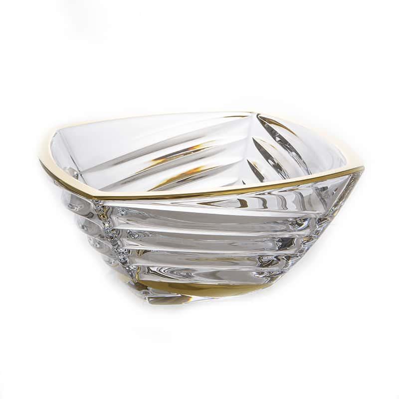 Факет Блестящая 1 Ваза для фруктов Union Glass 32,5 см.