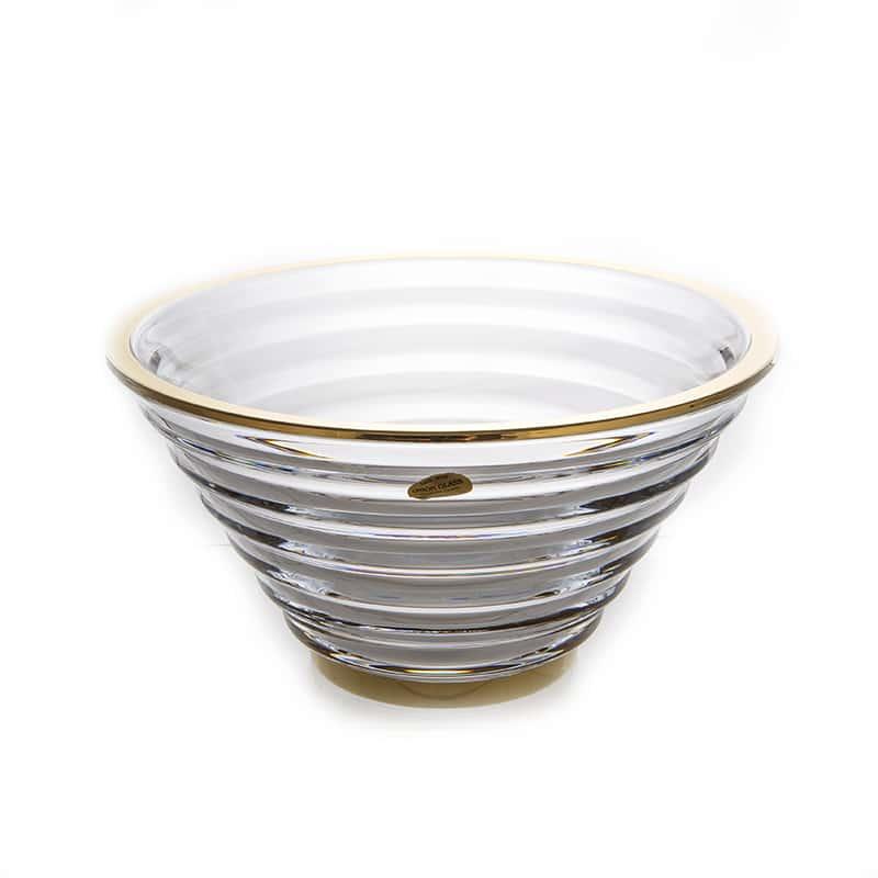 Фалко Блестящая 1 Ваза для фруктов Union Glass  29 см