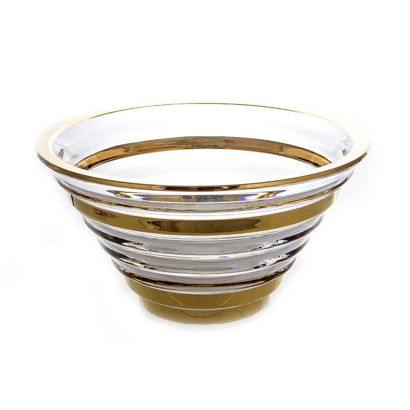 Фалко Блестящая 2 Ваза для фруктов Union Glass  29 см