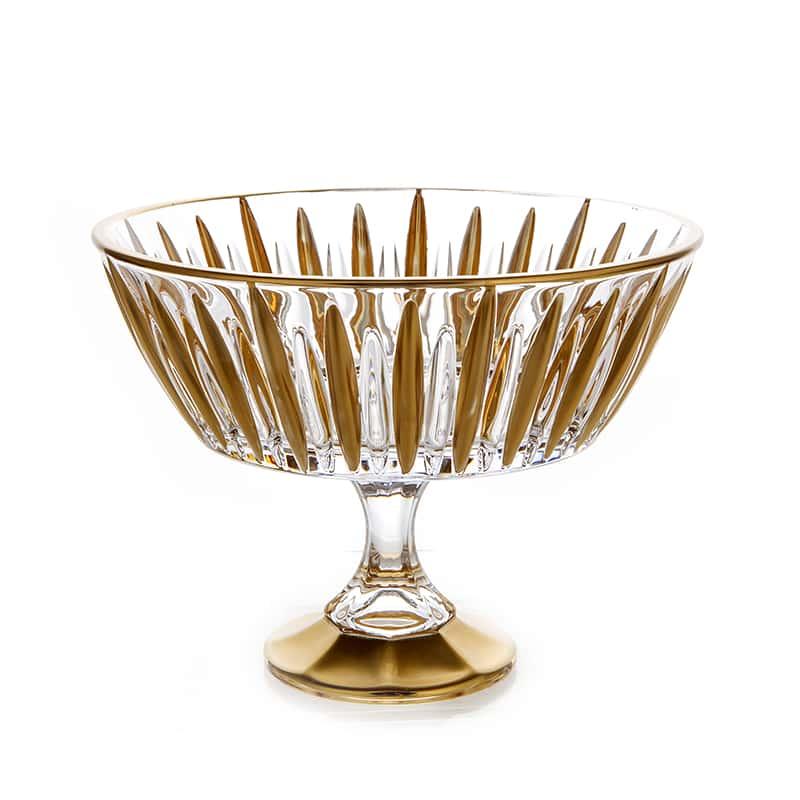 Венус Блестящая 1 Ваза для фруктов Union Glass 22 см