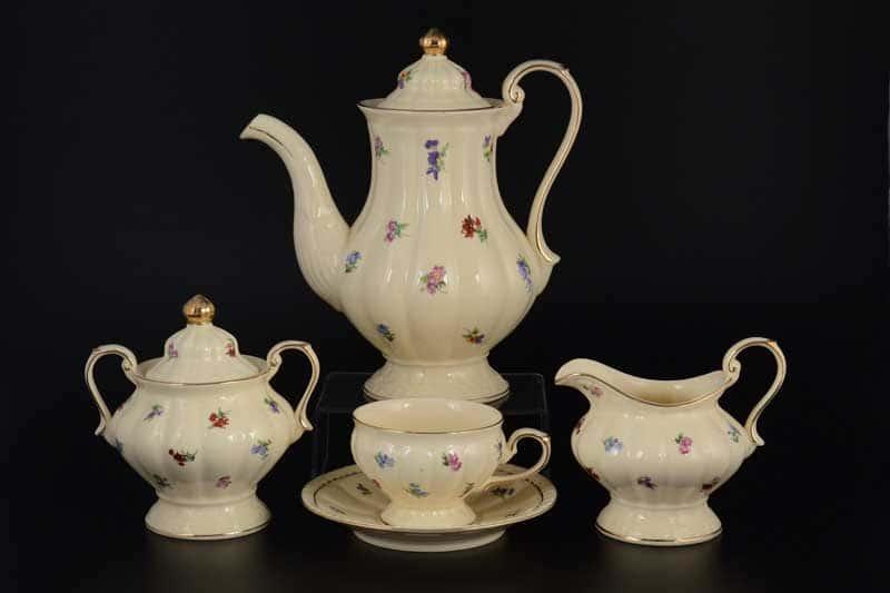 Мария Сервиз чайный Royal Classics 17 пр слоновая кость