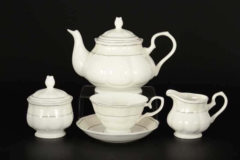 Агата Чайный сервиз Royal Classics на 6 персон 17 предметов