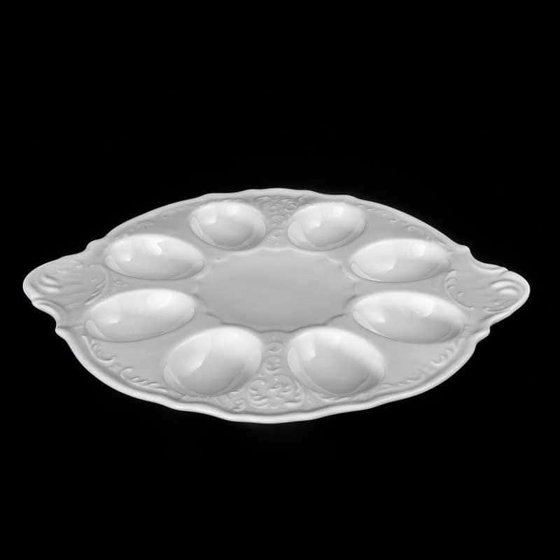 Бернадотт Недекорированный Поднос для яиц 25 см