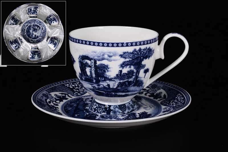 K11201 Набор чайных пар Royal Classics на 6 персон
