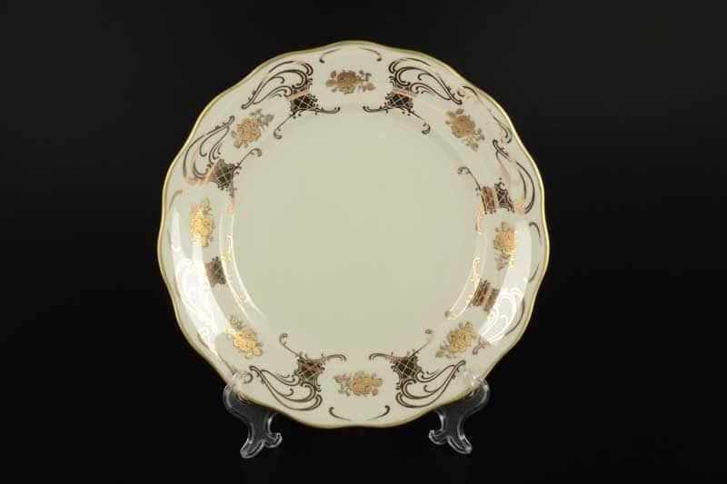 Набор тарелок 25 см Royal Porcelain (6 пар) Слоновая кость