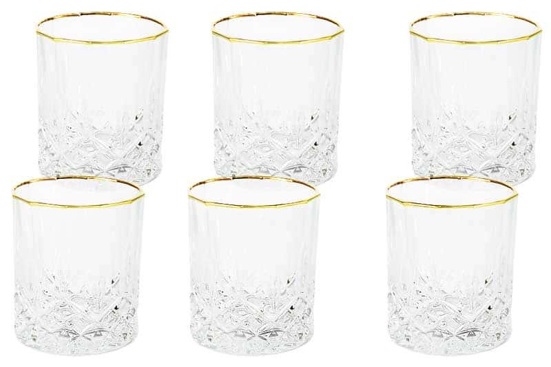 Уэльс Набор из 6 стаканов для виски Same Decorazione Италия в подарочной упаковке