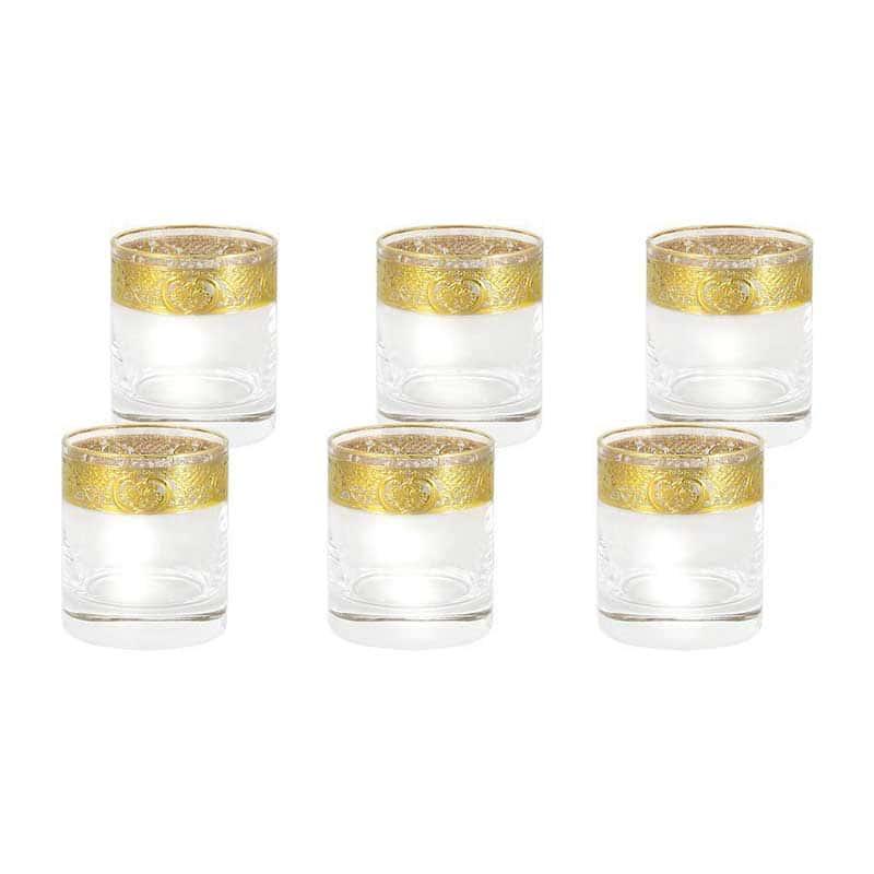 Империя Набор из 6 стаканов для виски Same Decorazione из Италии