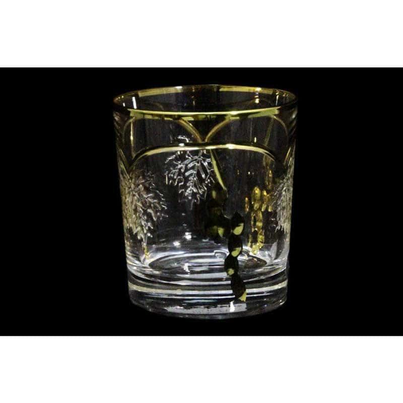 Тоскана Набор: 6 хрустальных стаканов для виски Same Decorazione из Италии