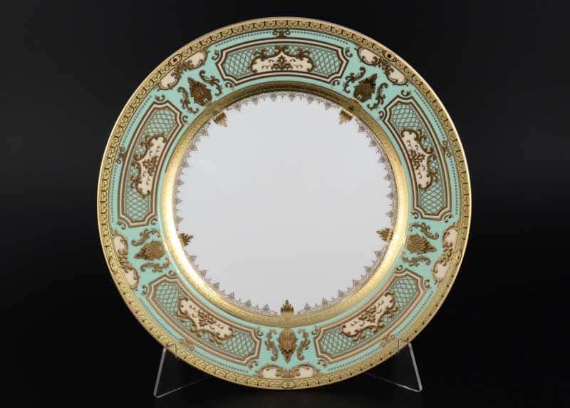 Donna light green gold Набор тарелок Falken 28 см (6 шт)