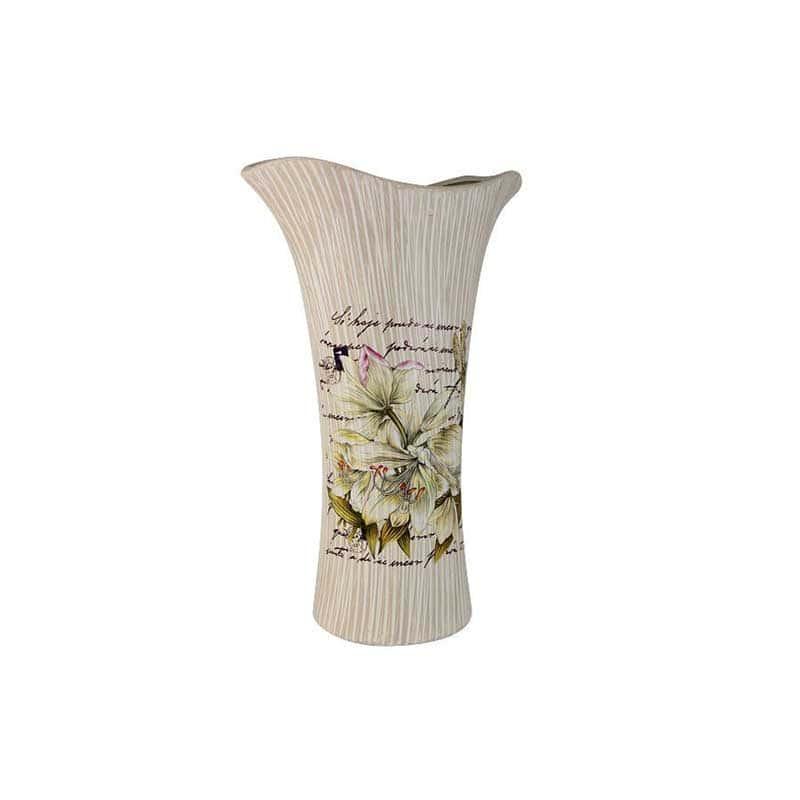 Лилии Ваза для цветов (кувшинка) большая Sunrise Ceramics из Китая 41 см.