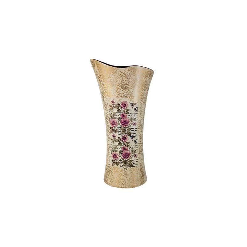 Розы Ваза для цветов (волна) Sunrise Ceramics из Китая 34 см.