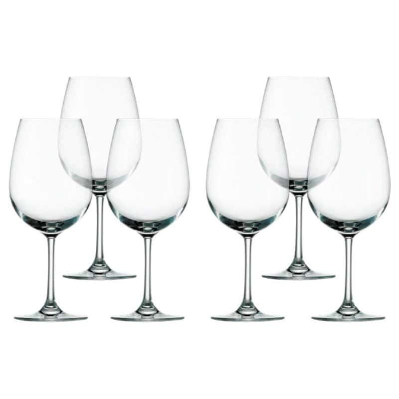 Weinland Набор из 6 бокалов для вина большие Штольцле (Stolzle) из Германии 540 мл.