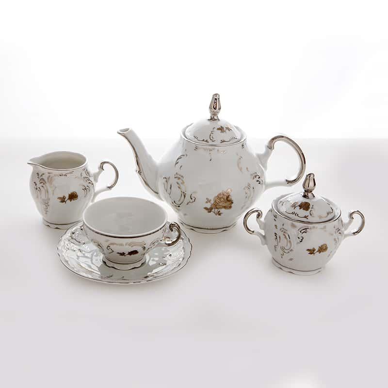 Бернадотт 952128 золотой Сервиз чайный на 6 перс. 15 пред.