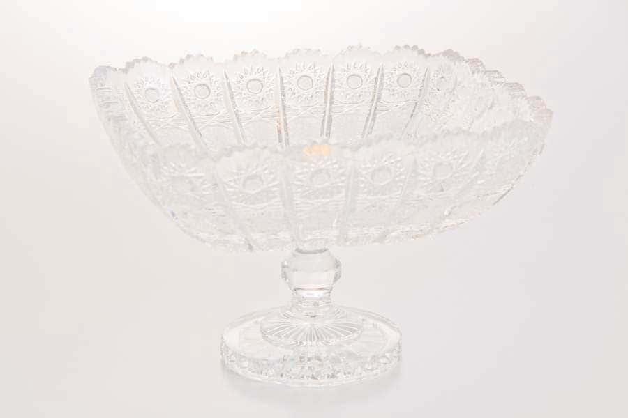 Хрусталь 61126 Ваза для фруктов Glasspo н/н 28 см.