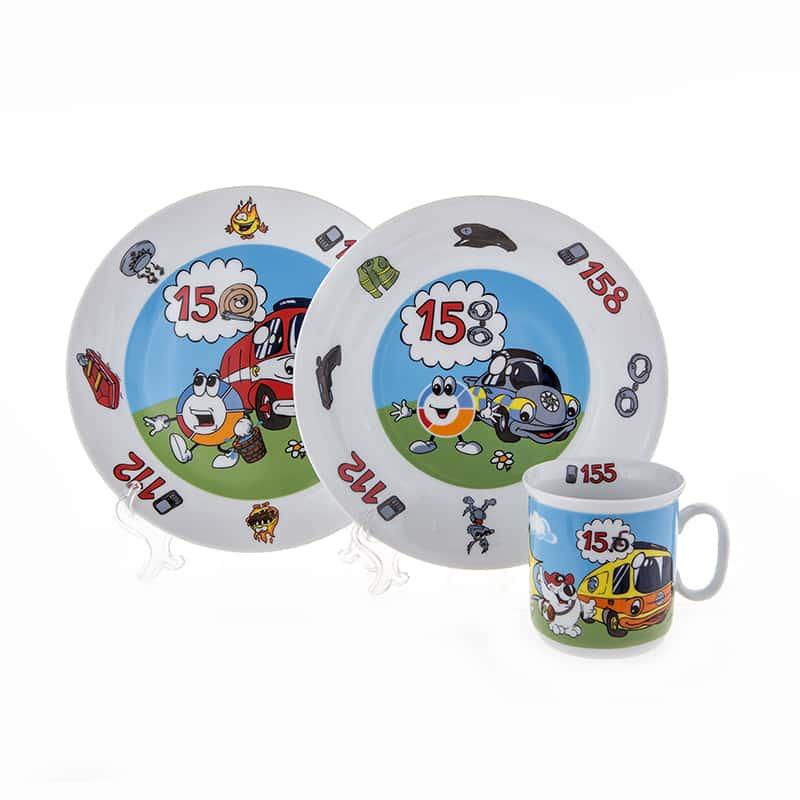 Набор детский 3 предмета Hello Kitty 14081