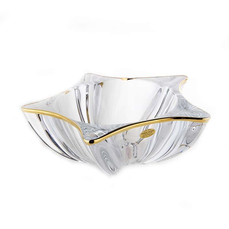 Еко Блестящая 1 Ваза для фруктов Union Glass 30,5 см.