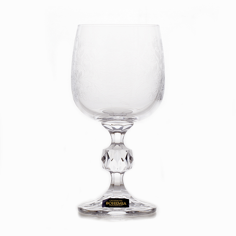 Клаудия 28580 Набор бокалов для вина Crystalite Bohemia 150 мл. 6 шт.