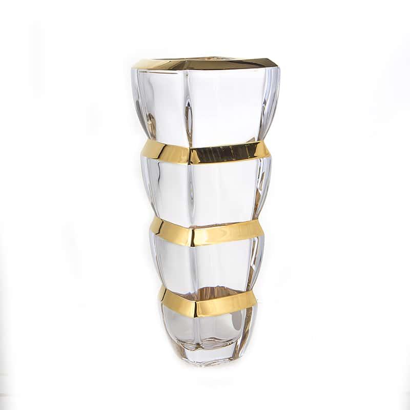 Сегмент Блестящая 2 Ваза для цветов Union Glass 28 см.
