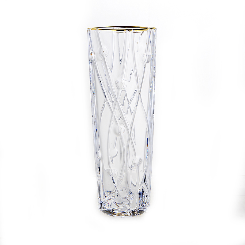 Лабиринт Блестящая 1 Ваза для цветов Union Glass 25,5 см.