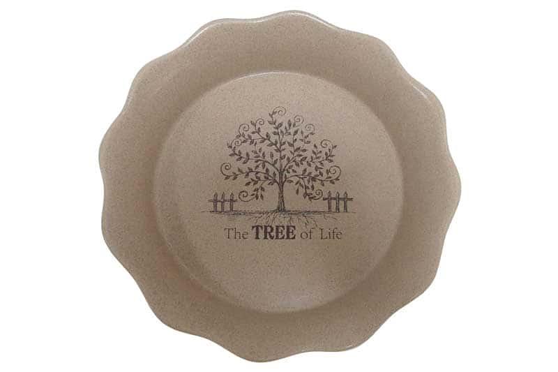 Дерево жизни Круглое блюдо для выпечки Terracotta из Китая