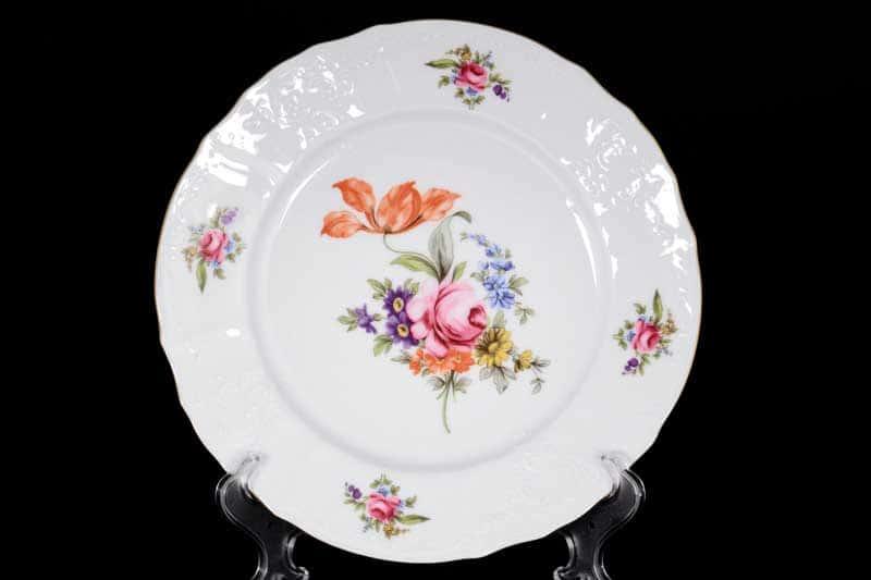 Бернадотт Полевой цветок 9011 Набор тарелок 25 см (6 шт)