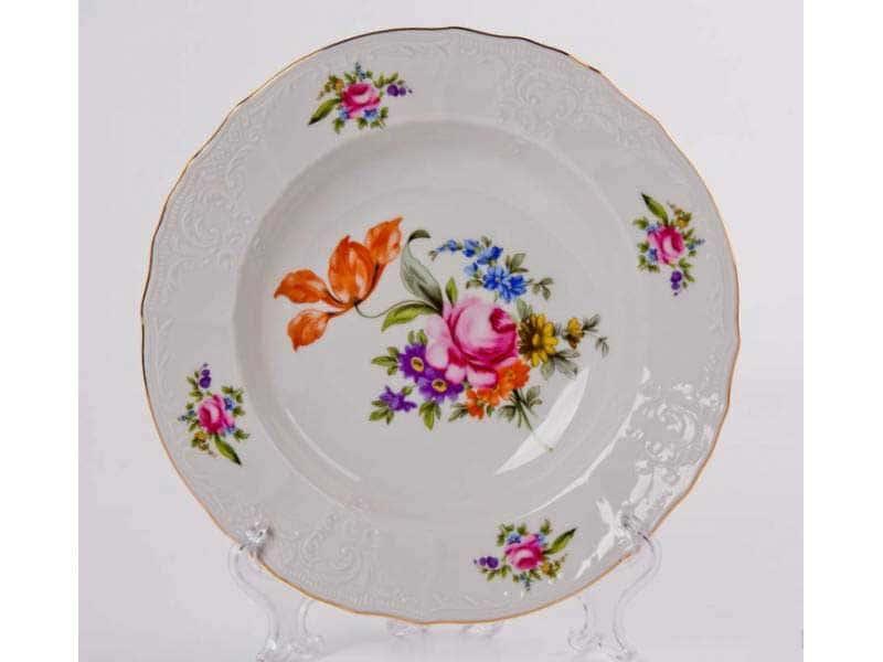 Бернадотт Полевой цветок 9011 Набор глубоких тарелок 23 см (6 шт)