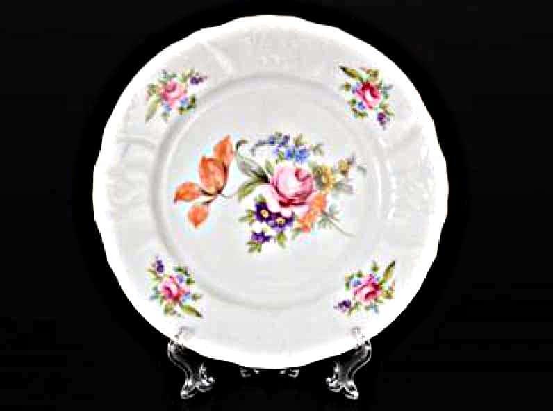 Бернадотт Полевой цветок 9011 Набор тарелок 21 см (6 шт)