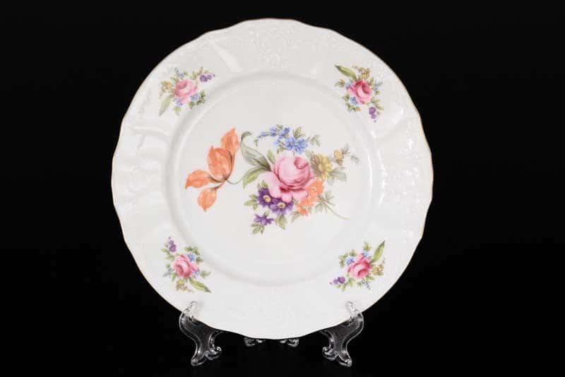 Бернадотт Полевой цветок 9011 Набор тарелок 19 см (6 шт)