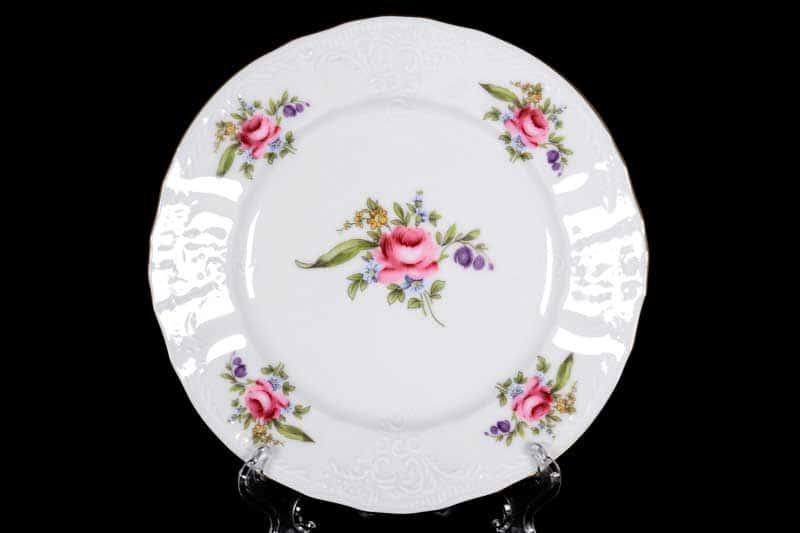Бернадотт Полевой цветок 9011 Набор тарелок 17 см (6 шт)