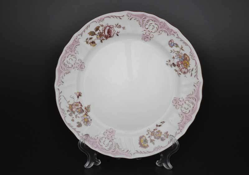 Бернадотт Розовый цветок 25058 Набор тарелок 21 см