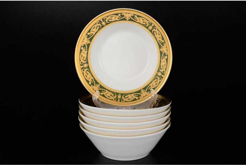 Imperial Green Gold Набор салатников Falken 14 см (6 шт)