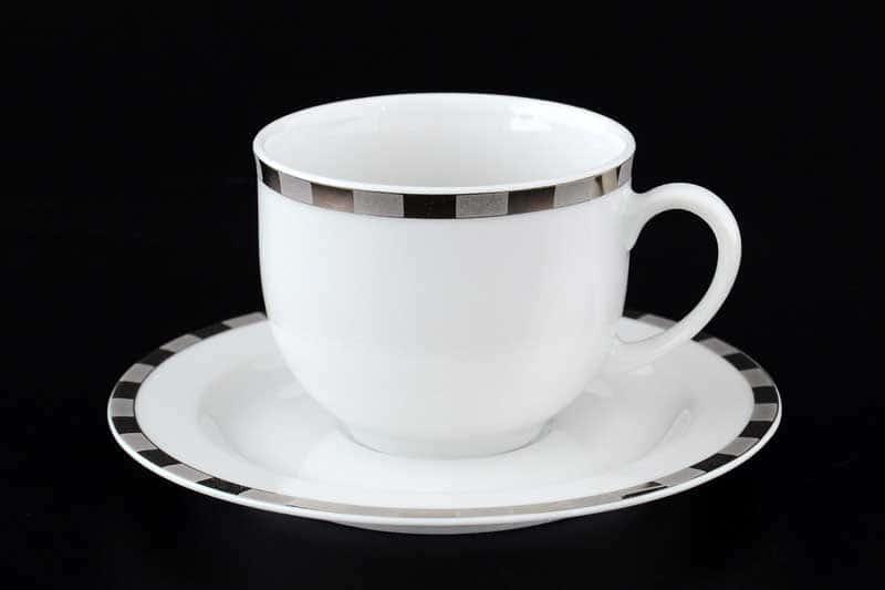 Опал Платиновые пластинки  Набор кофейных пар 160 мл Thun