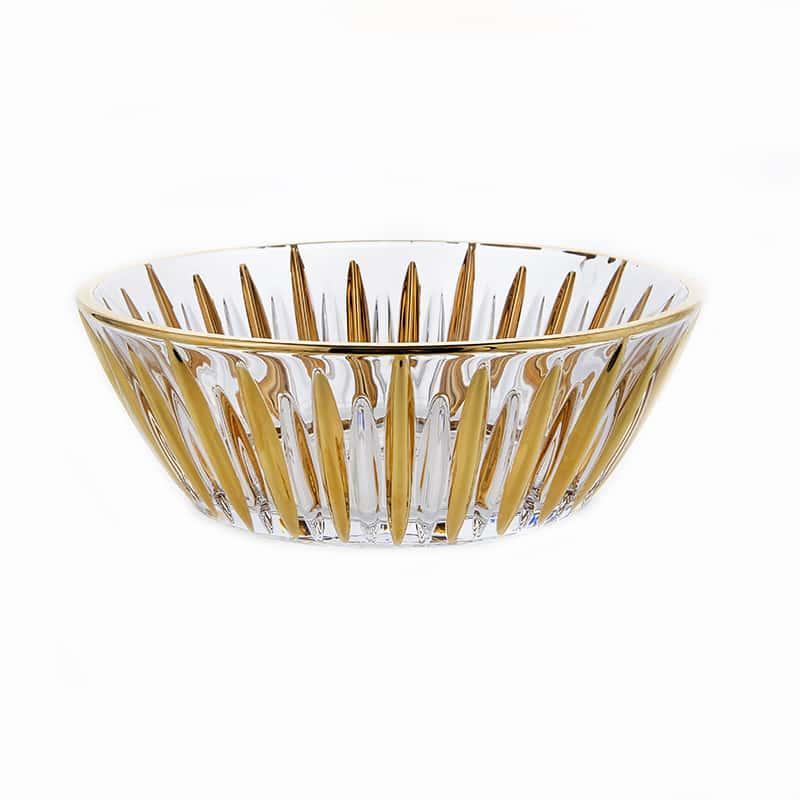Венус Блестящая 2 Ваза для фруктов Union Glass 22 см
