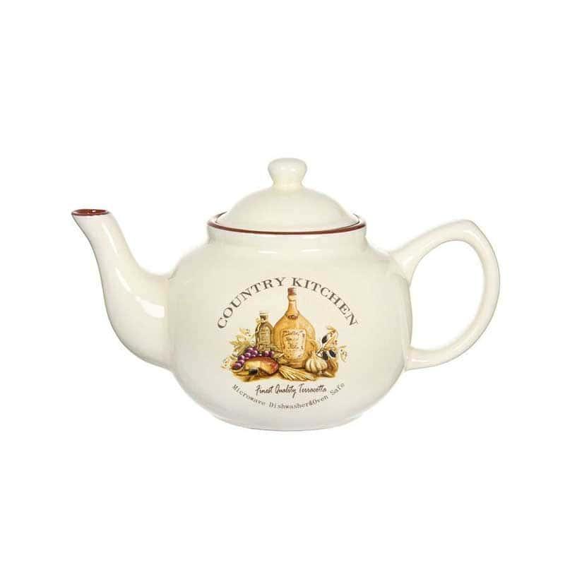 Сардиния Заварочный чайник Terracotta из Китая в подарочной упаковке 1 л.