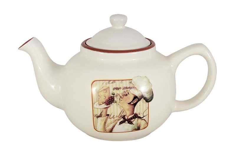 Шеф-повар Чайник заварочный из керамики Terracotta из Китая 1,0 л.