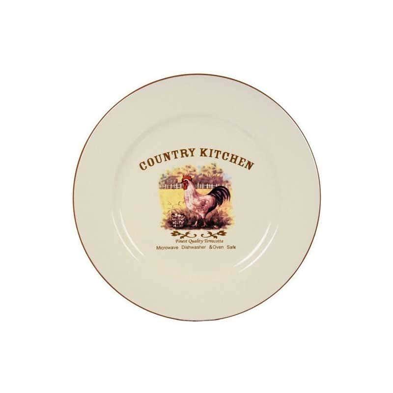 Деревенское утро Обеденная тарелка Terracotta из Китая в подарочной упаковке