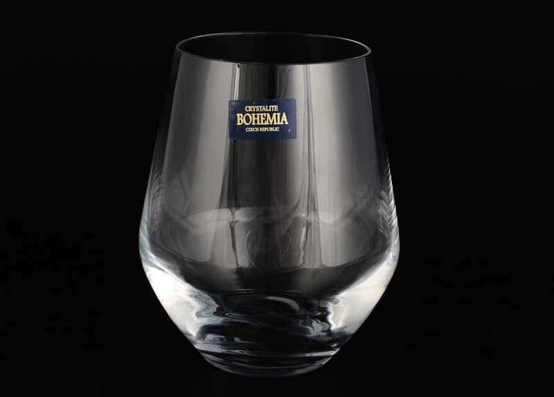 MICHELLE Набор бокалов для вина Crystalite Bohemia 350 мл