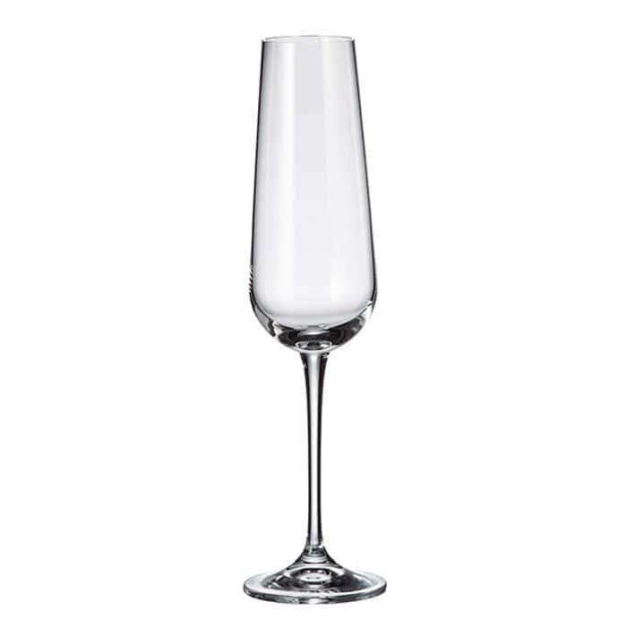 AMUNDSEN Набор фужеров для шампанского Crystalite 220 мл (6 шт)