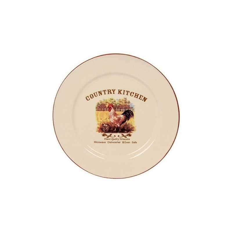 Деревенское утро Закусочная тарелка Terracotta Китай в подарочной упаковке