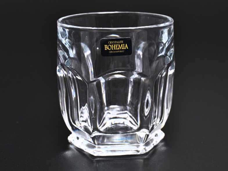Сафари без декора Набор стаканов для виски Crystalite 250 мл (6 шт)