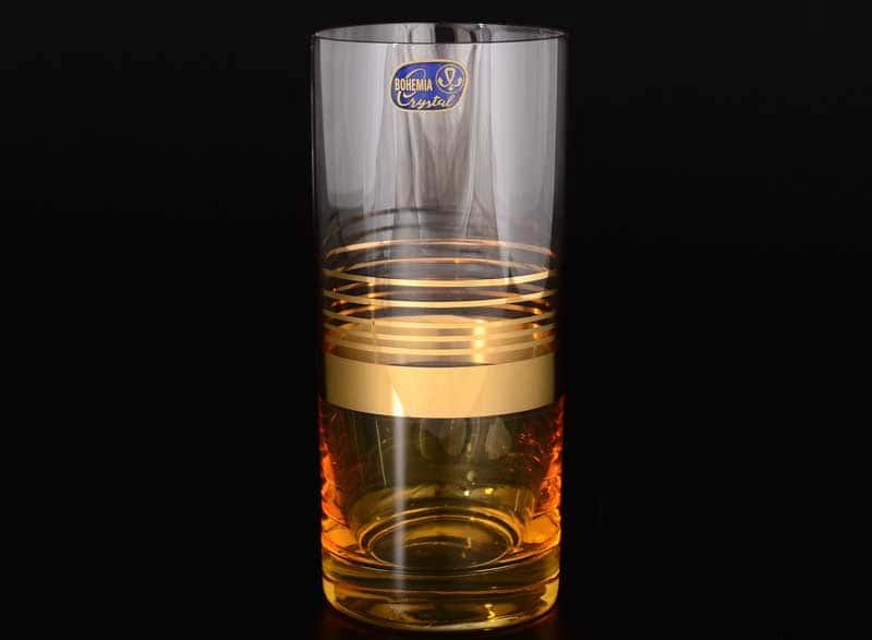 Анжела МА390 Набор стаканов для воды Bohemia Crystal 300 мл (6 шт)