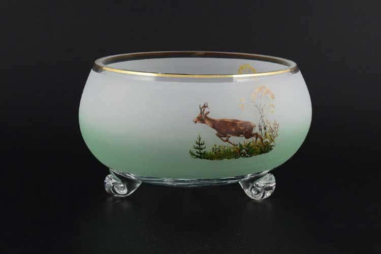 Охота NB-Arte Тройножка ваза для фруктов Crystal Art 21 см