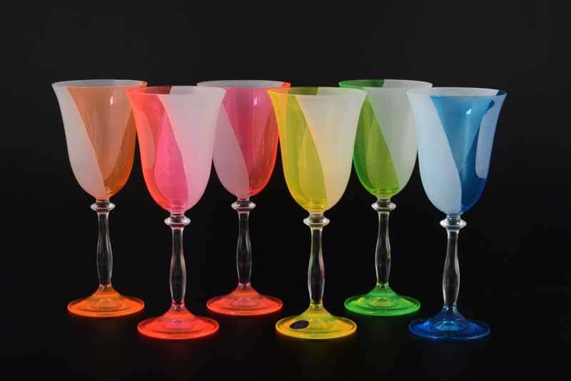 Анжела Неон B-G Набор бокалов для вина (6 шт)