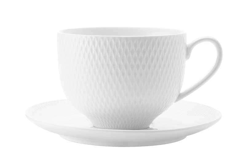 Даймонд Чайная чашка с блюдцем Maxswell & Williams из Китая